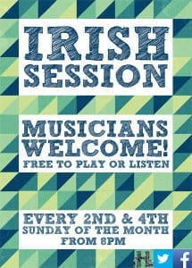 IRISH MUSIC SESSIONS @ The Harrison | London | England | United Kingdom
