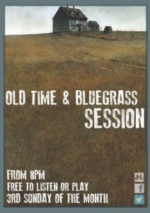OLD TIME & BLUEGRASS SESSION @ The Harrison | London | England | United Kingdom