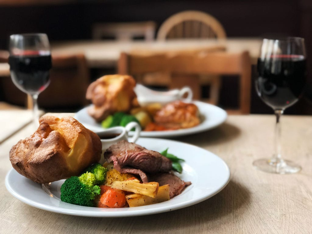Sunday Roast Saturday Brunch Lunch Dinner Kings Cross